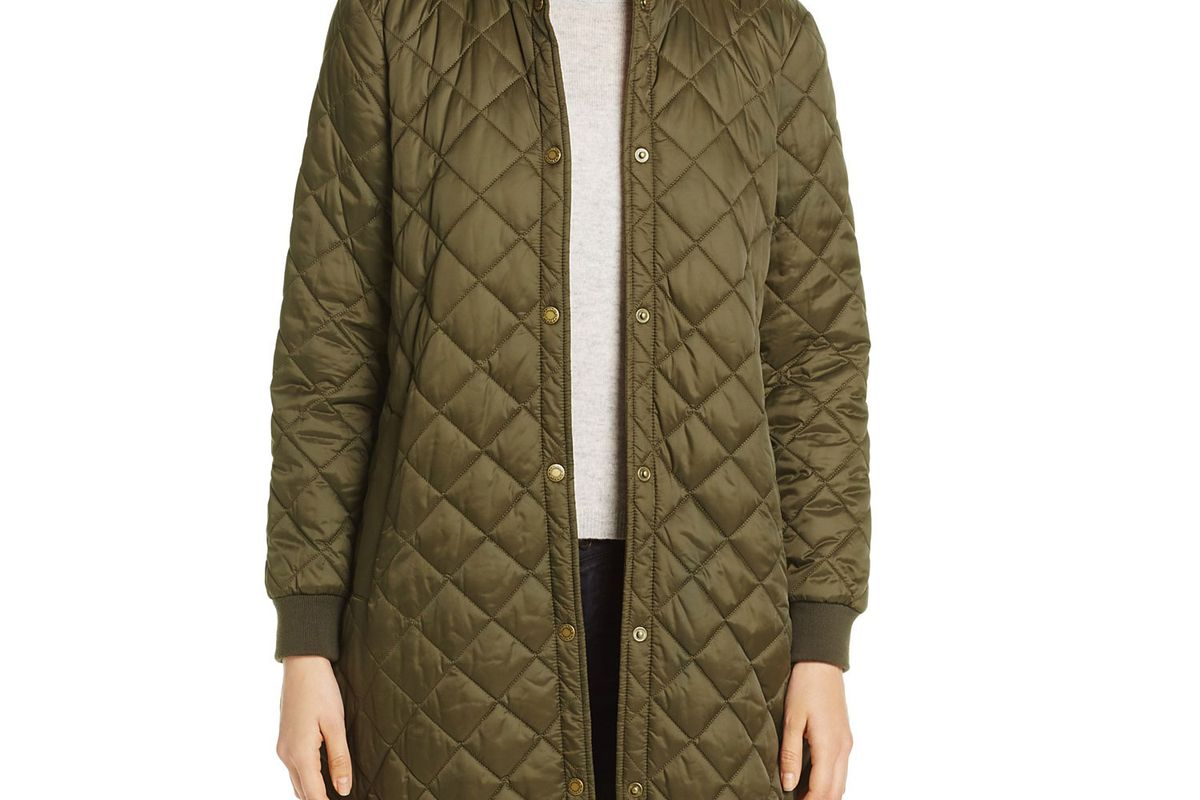 Ebbertson Long Quilted Coat