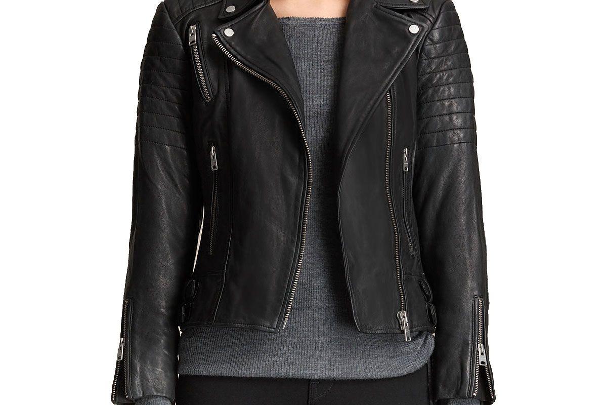 Papin Leather Bike Jacket