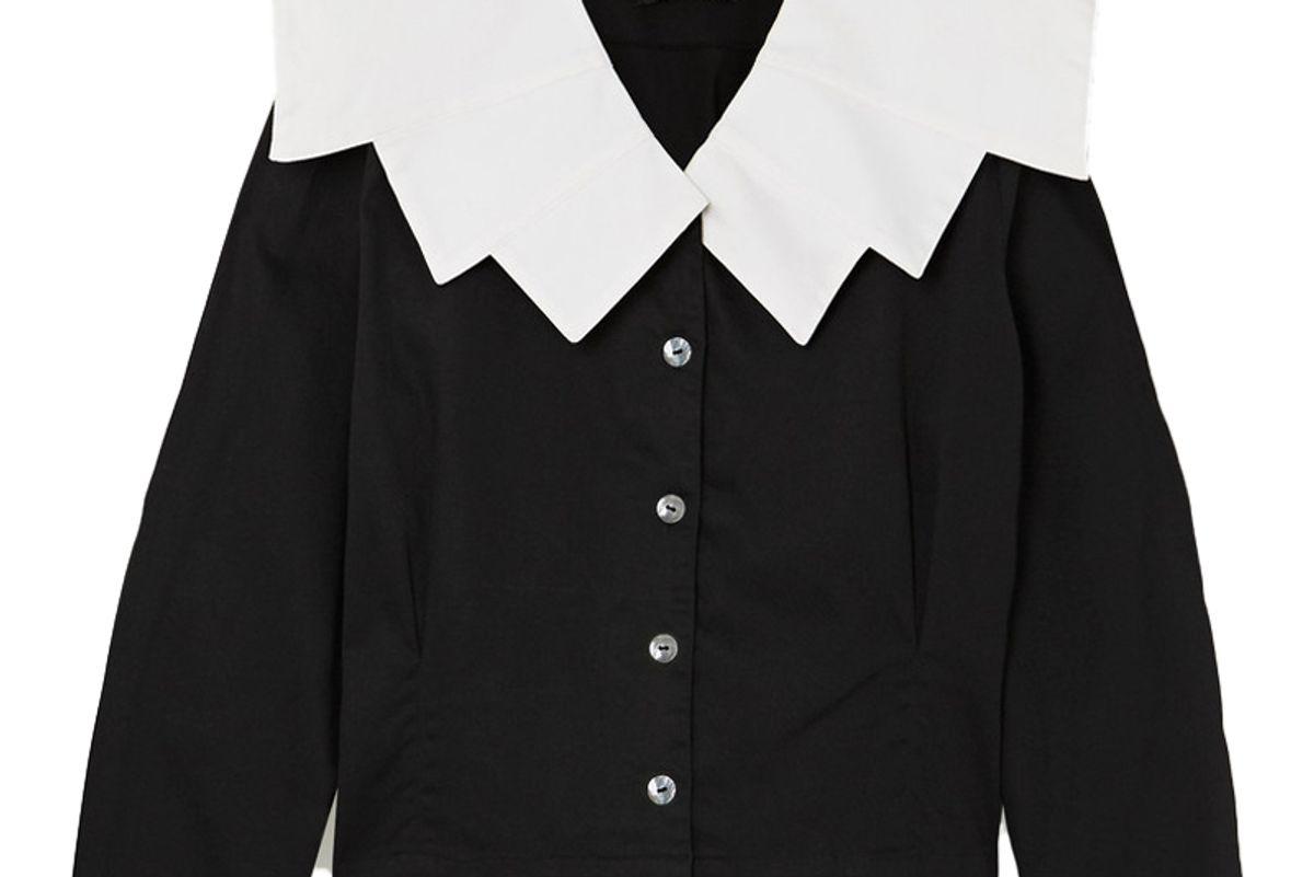 acheval pampa evita cotton blend blouse