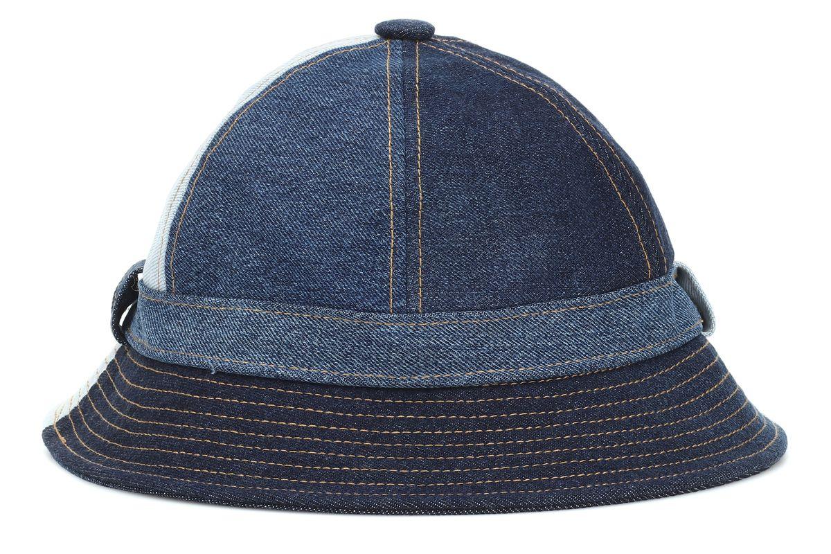 acne studios bla konst denim bucket hat