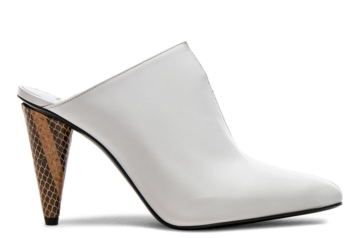 Leather Demy Mules