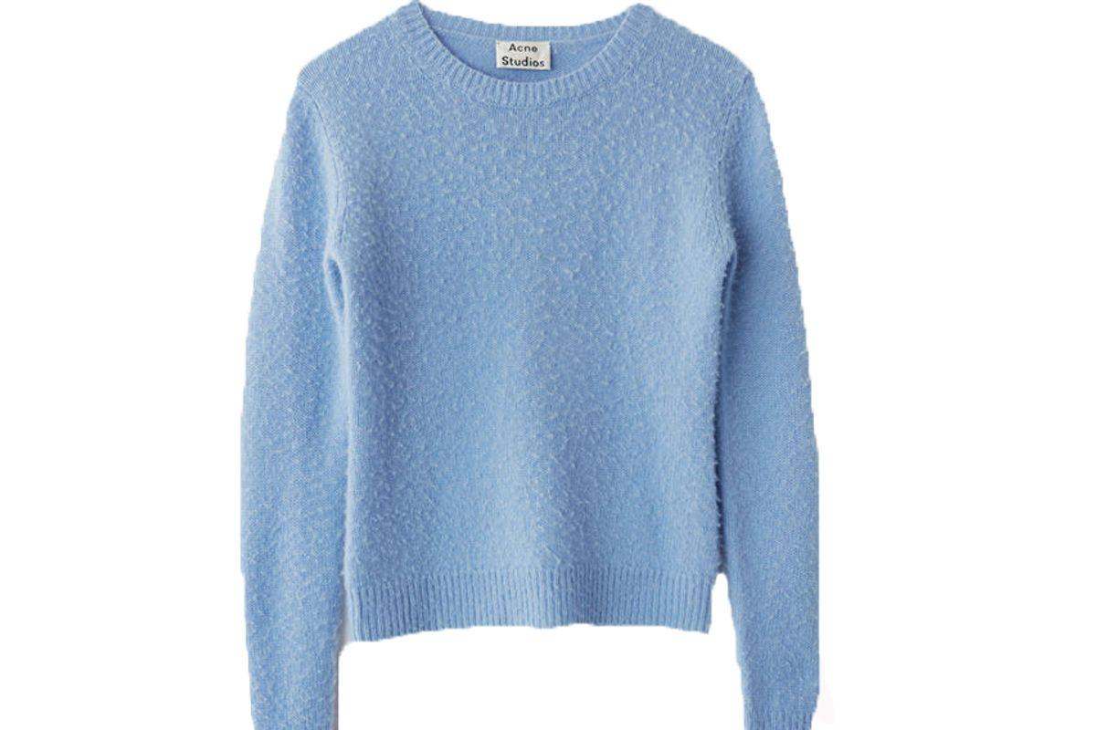 acne studios baby blue sweater