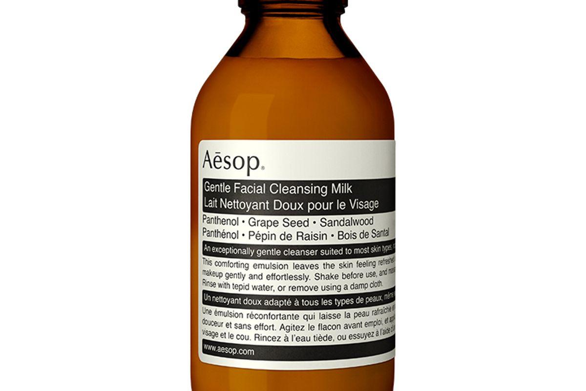 aesop gentle facial cleansing milk