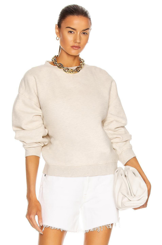 agolde nolan drop shoulder sweatshirt