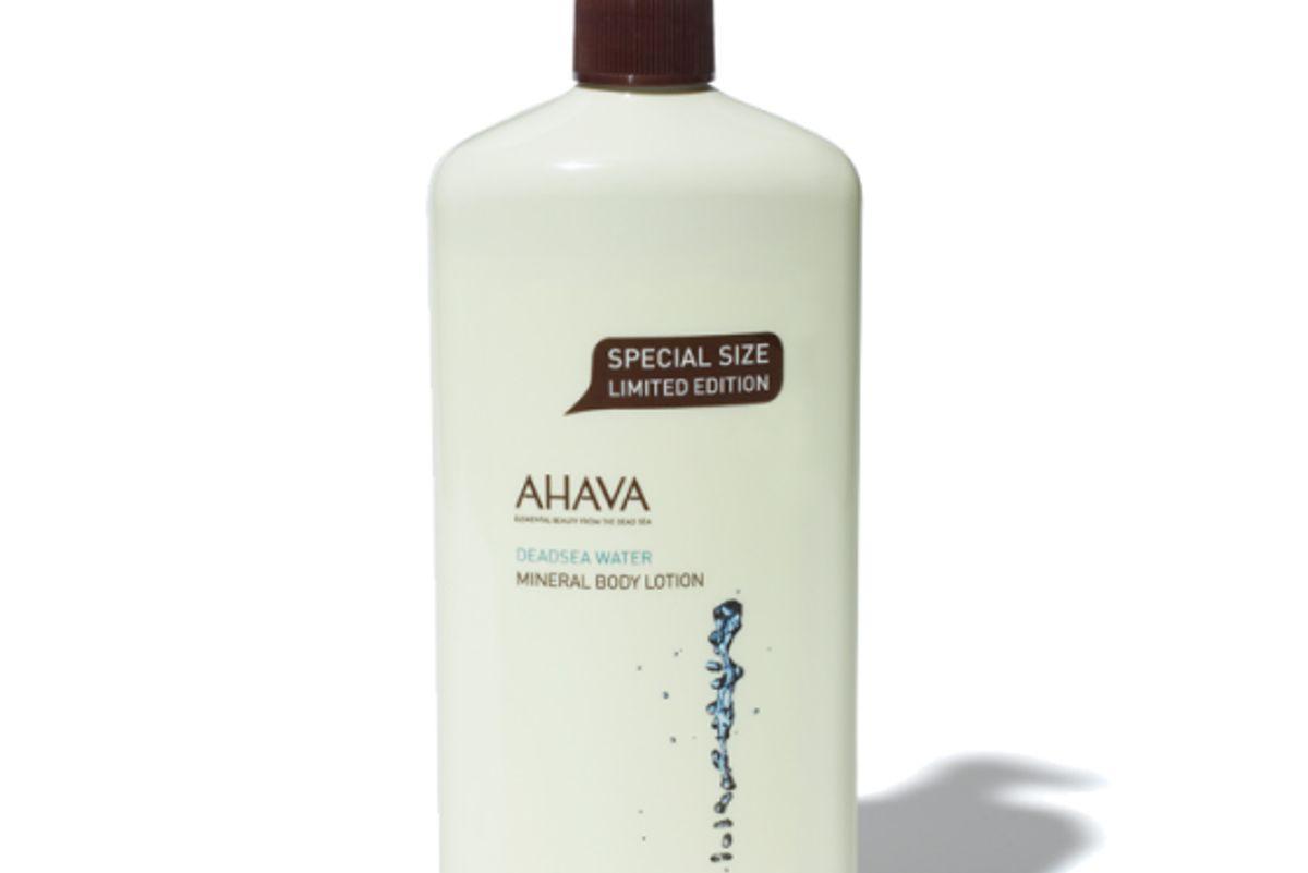 ahava triple size mineral body lotion