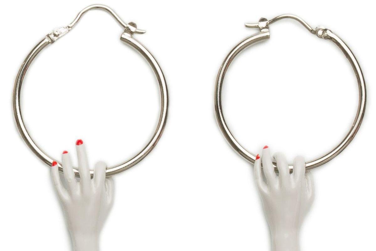 Severed Hand Earrings