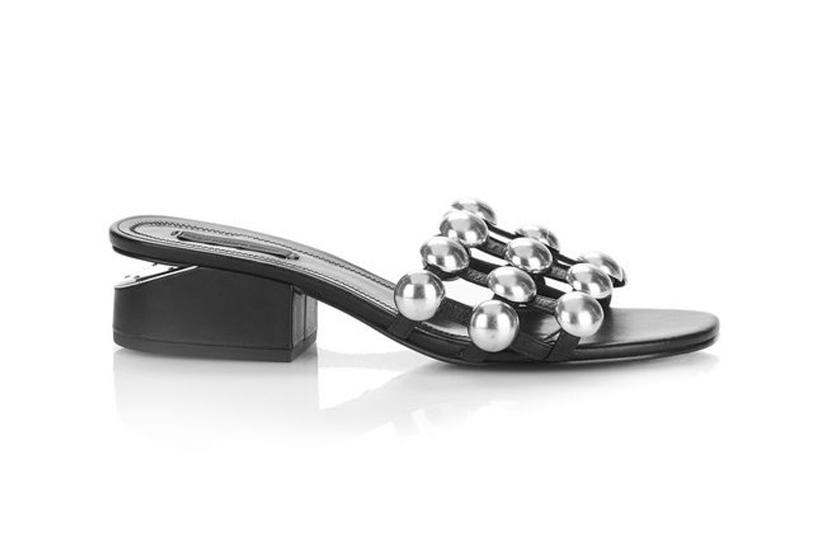 Dome Stud Lou with Rhodium