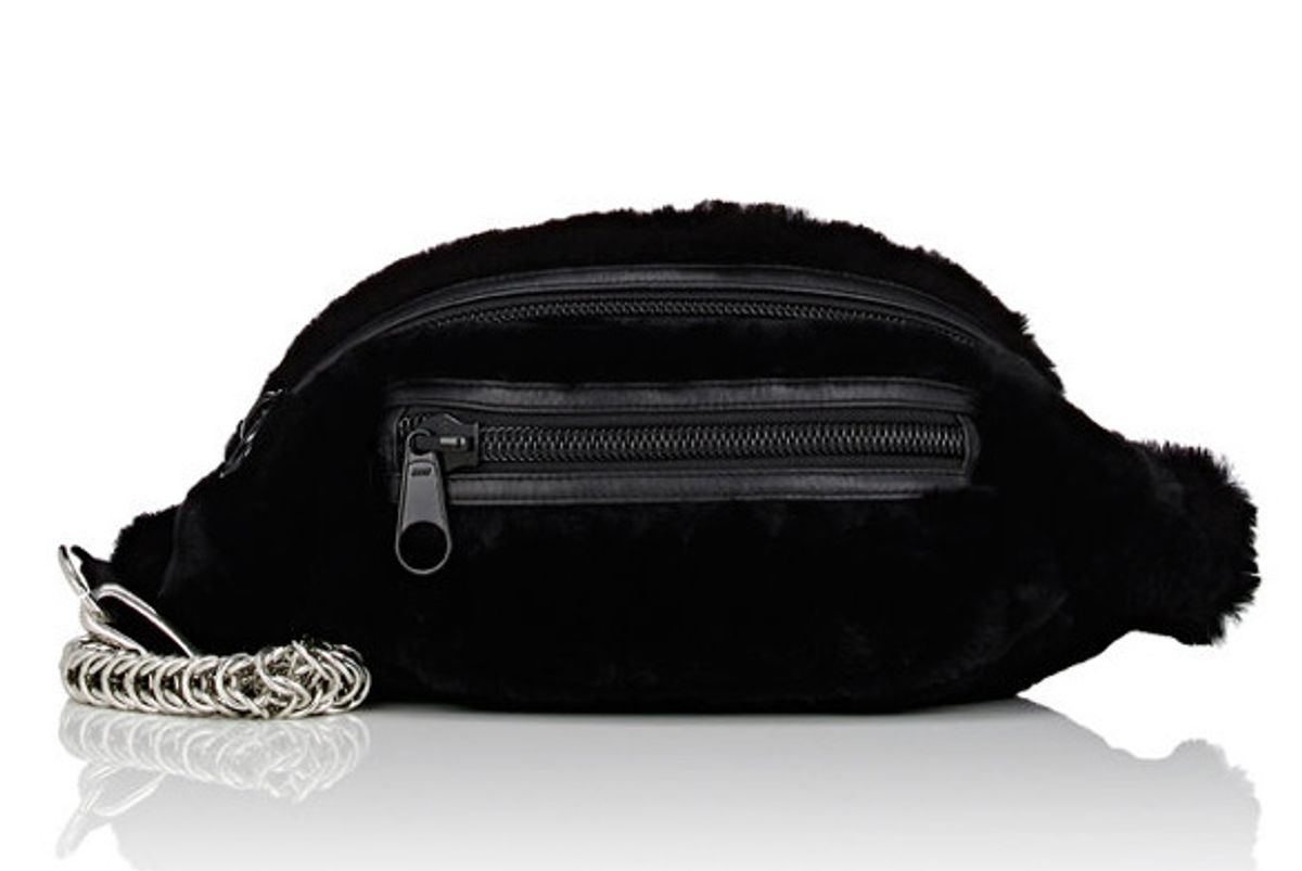 Primary Rabbit Fur Belt Bag