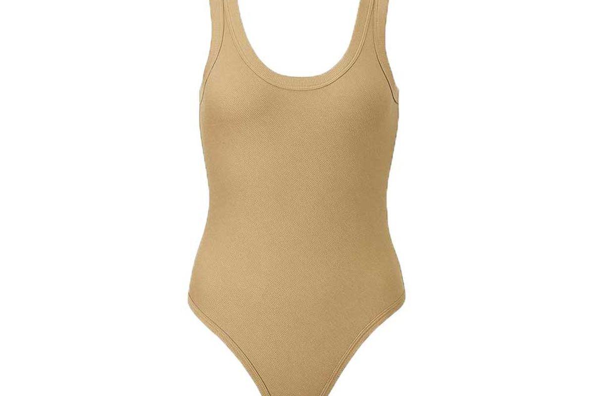 niqlo womens heattech ribbed sleeveless bodysuit alexander wang