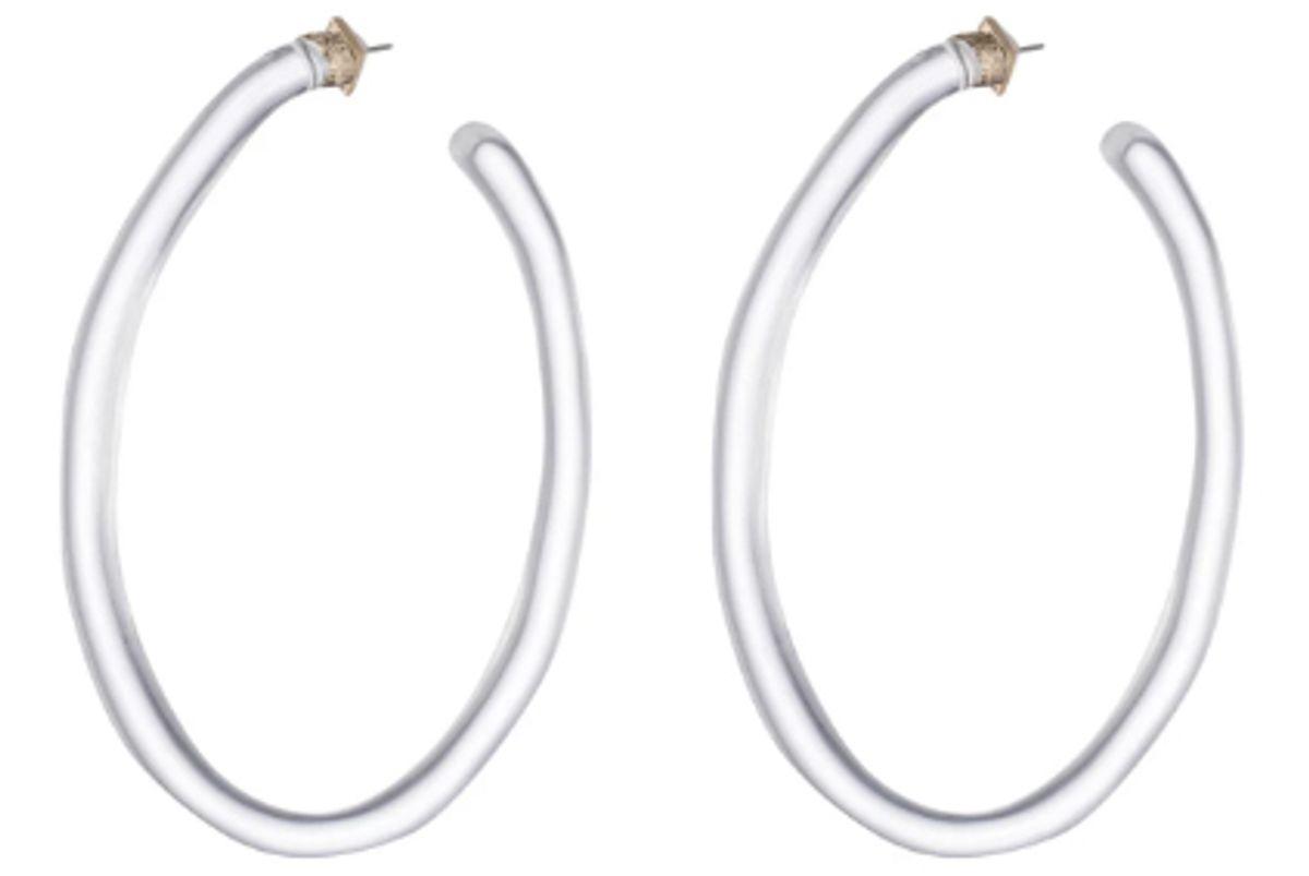 alexis bittar extra large hoop earrings