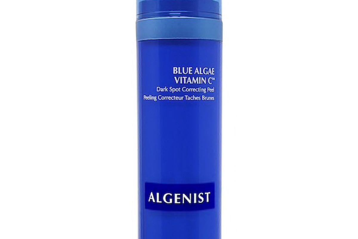 algenist blue alge vitamin c dark spot correcting peel