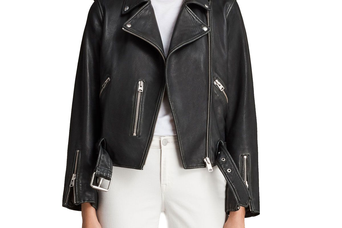 Vintage Leather Balfern Jacket