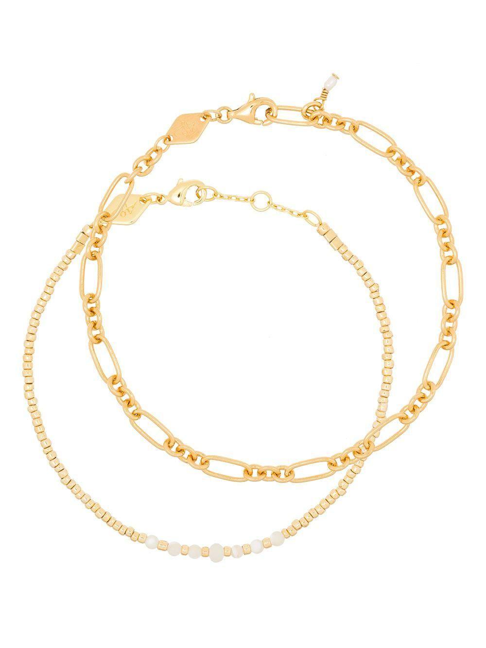 anni lu clemence sun stalker bracelet set