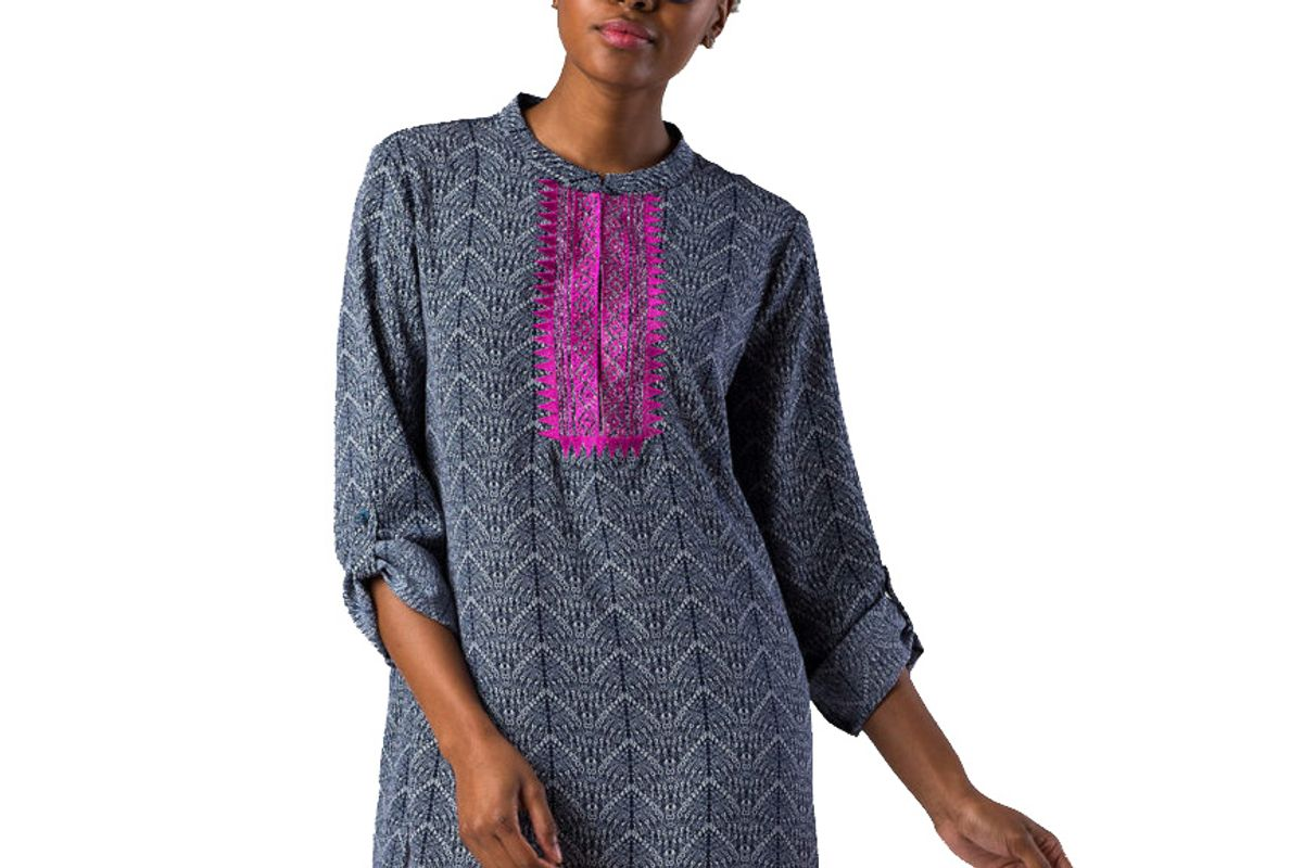 Annie Tunic with Embroidery