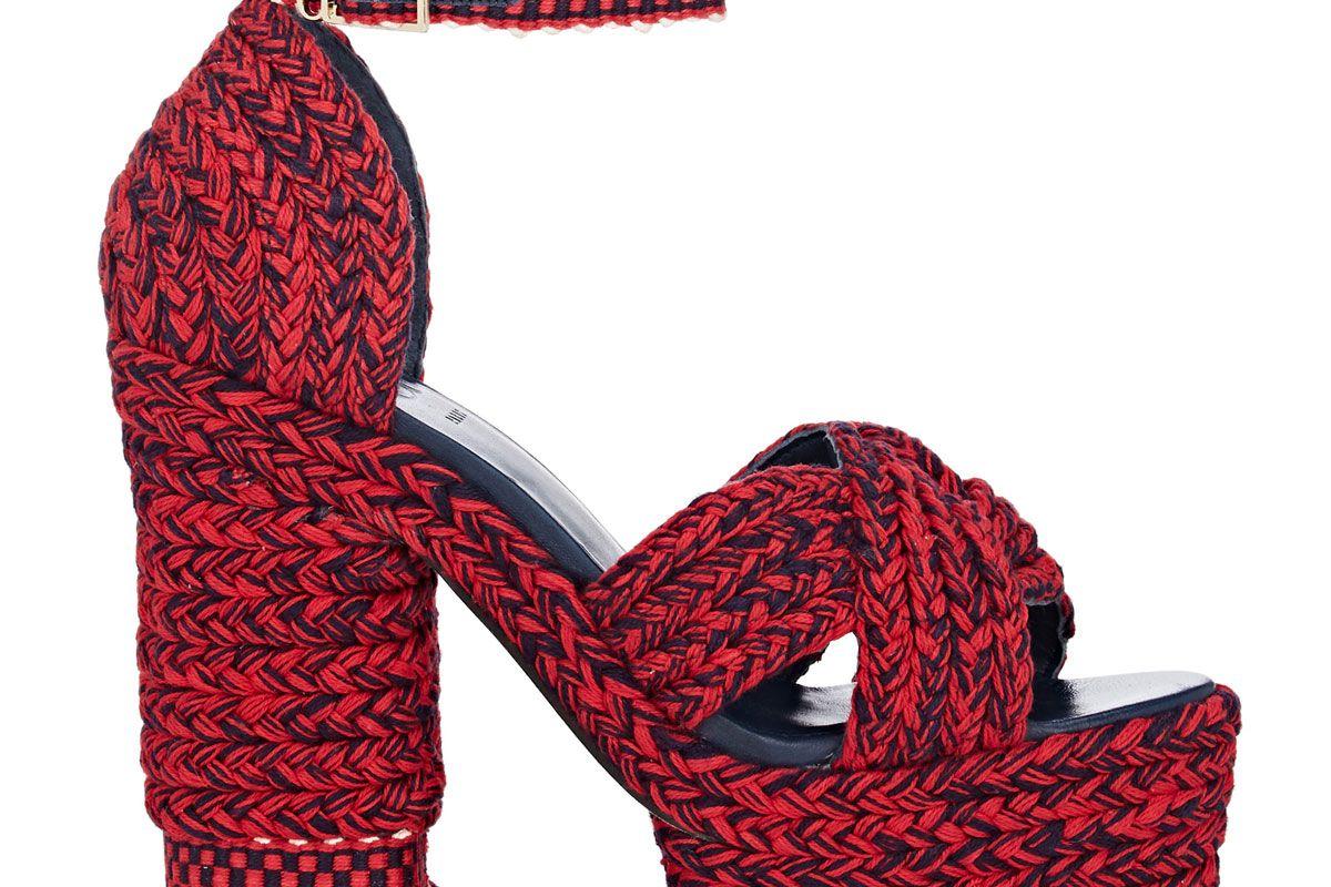 antolina aurora cotton platform sandals