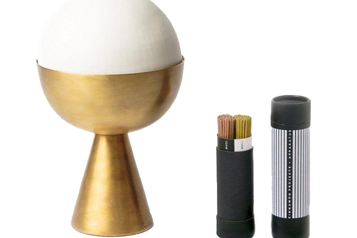 Censer Brass Incense Burner/Candle Holder