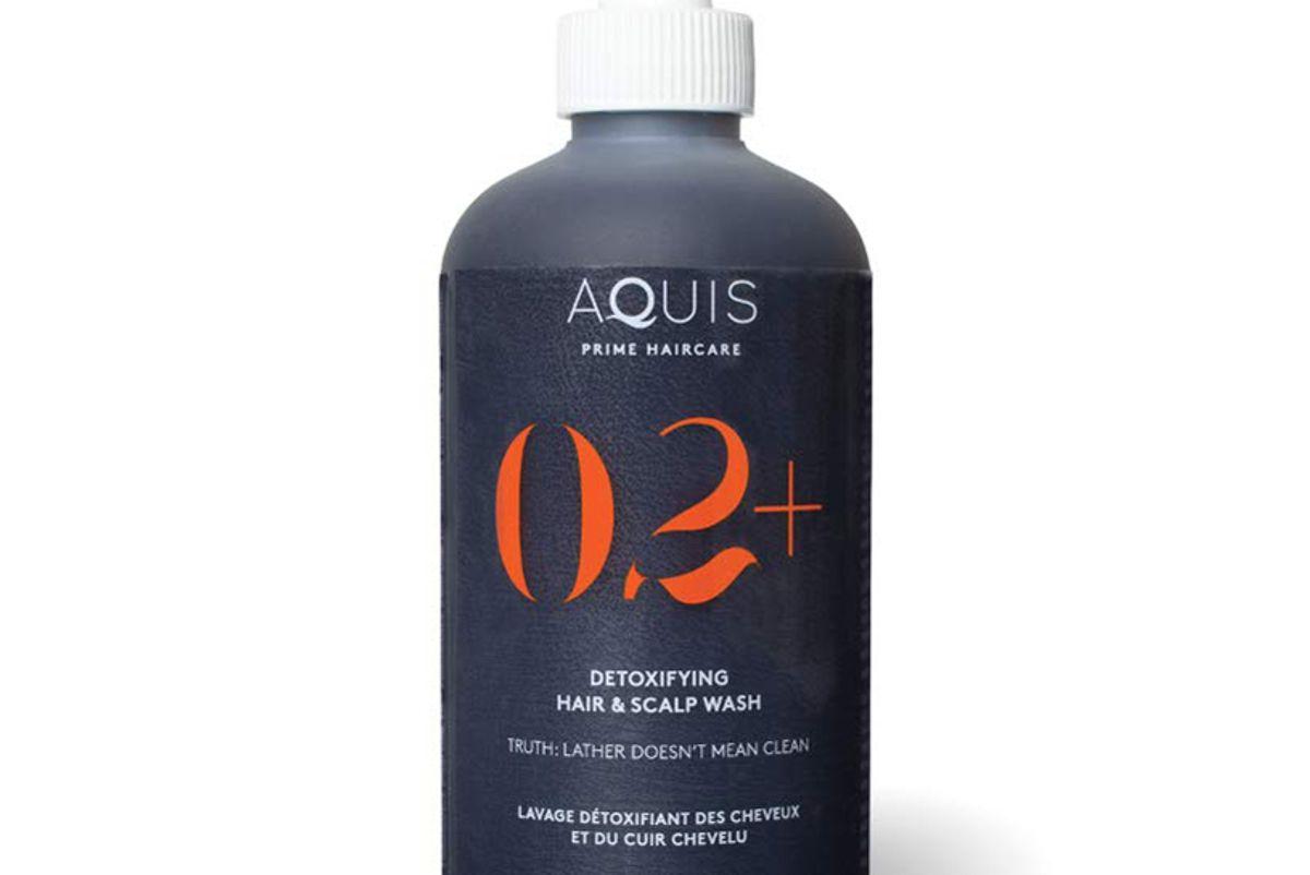 aquis prime detoxifying hair and scalp wash