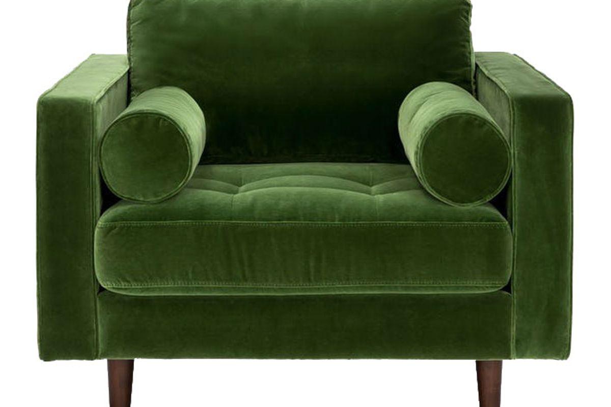 article sven grass green chair