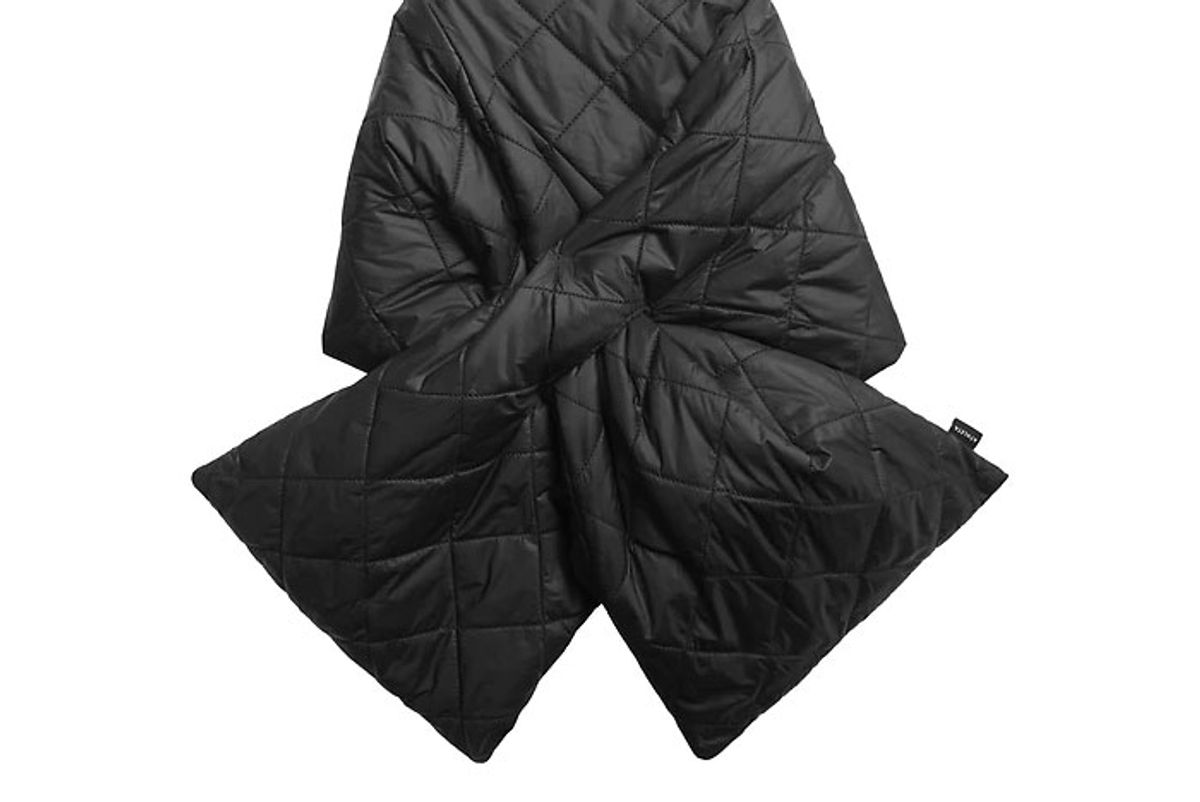 athleta quilted puffer scarf