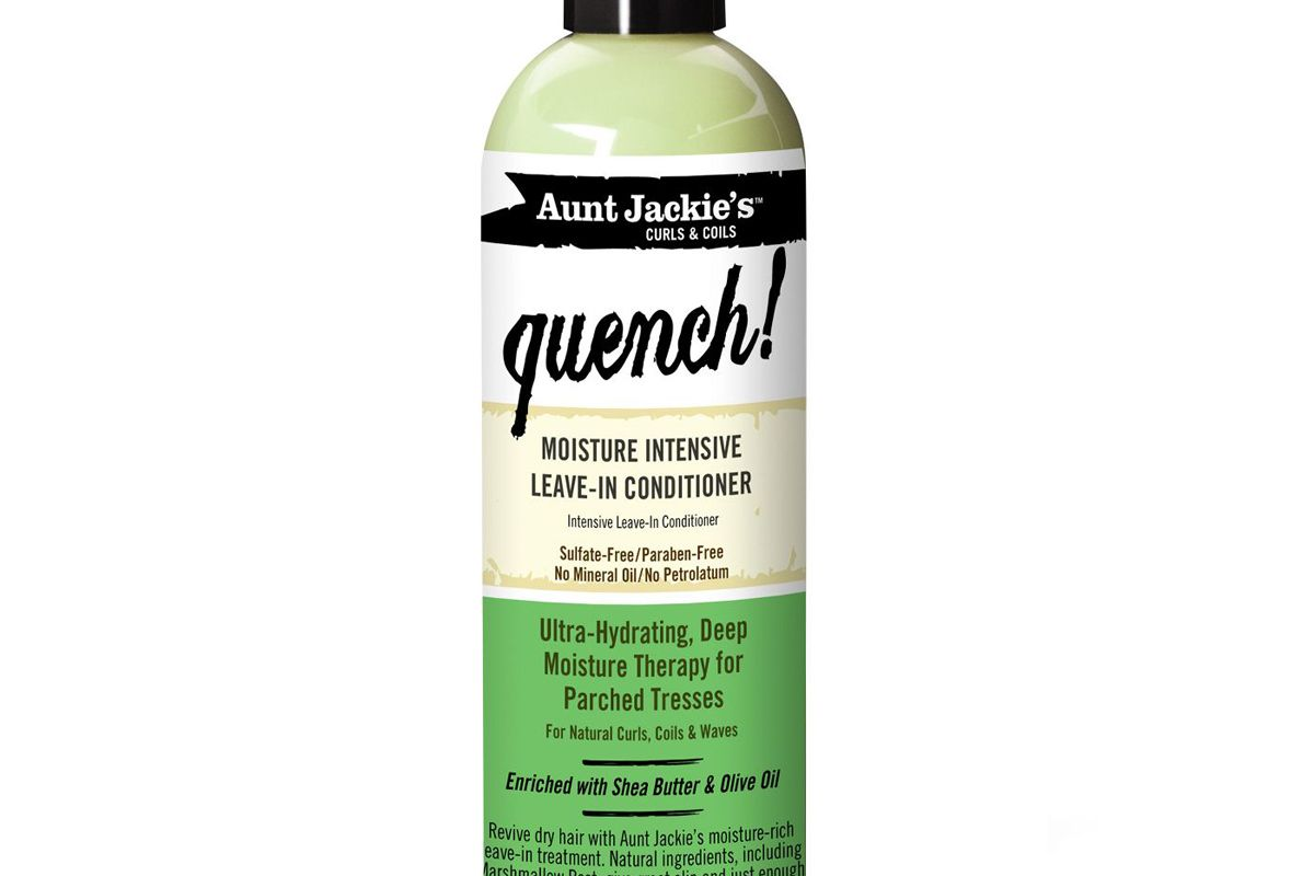 aunt jackies curls and coils quench moisture intensive leave in conditioner