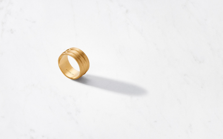 auvere tripple barrel ring satin