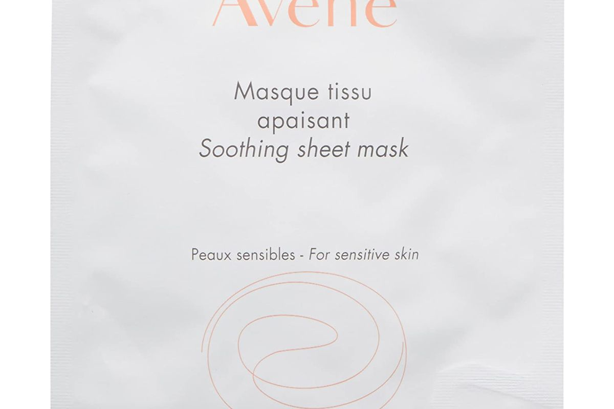 avene soothing sheet mask
