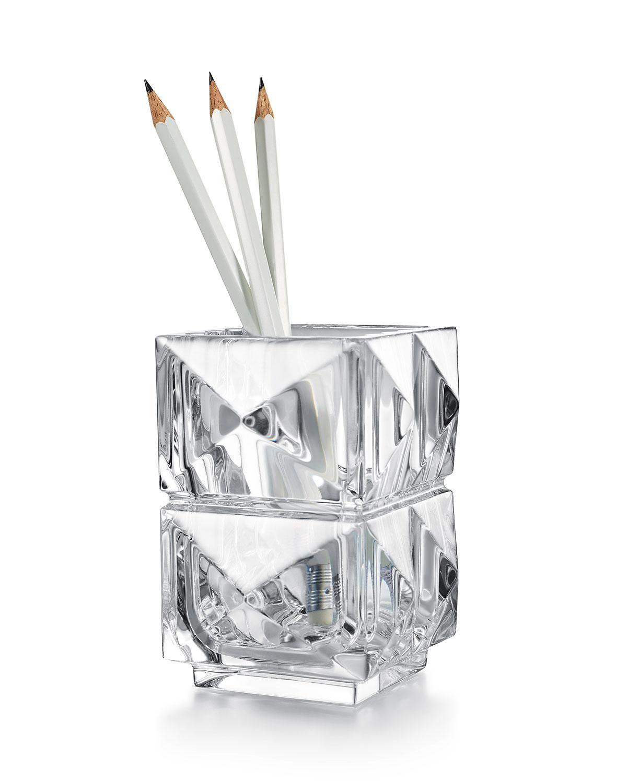 baccarat louxor pencil holder