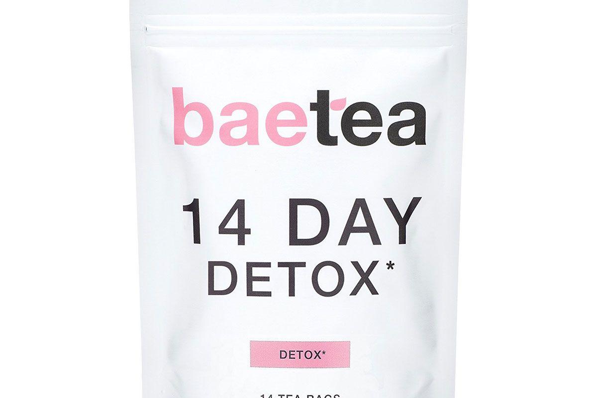 baetea 14 day detox herbal tea supplement