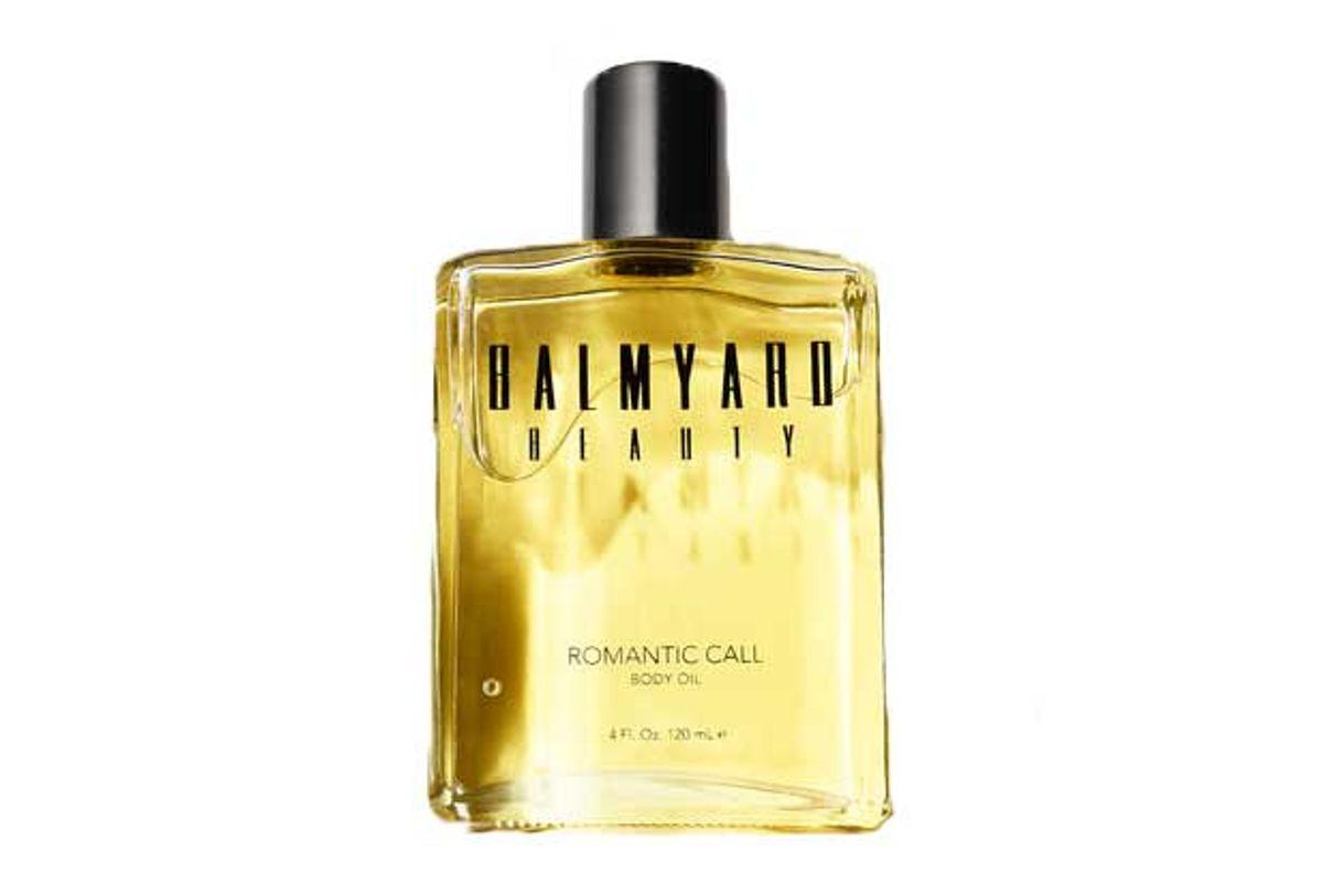 balmyard beauty romantic call body oil