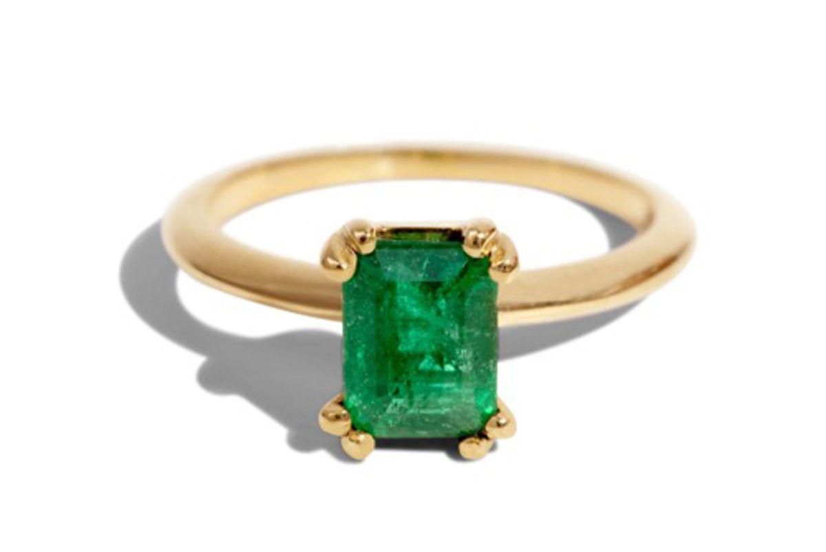 bario neal ray emerald ring