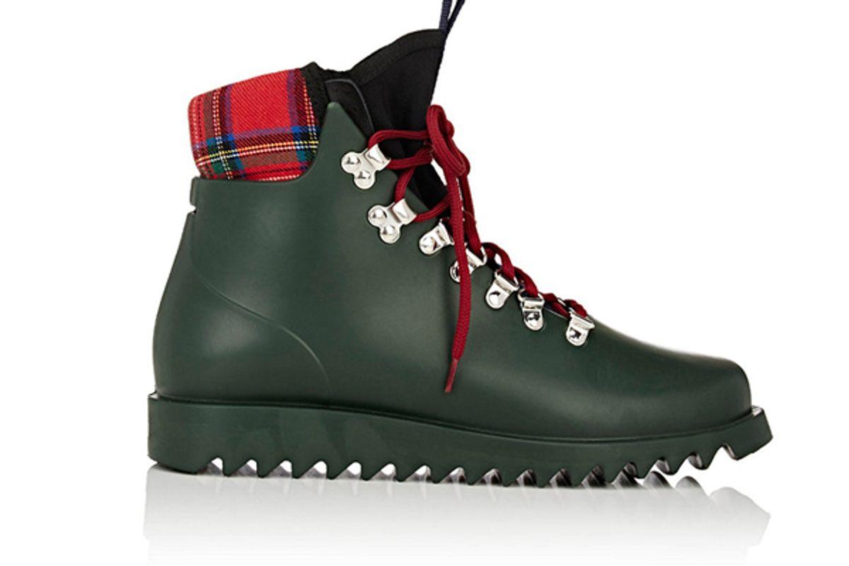 Neoprene-Insert Rain Boots
