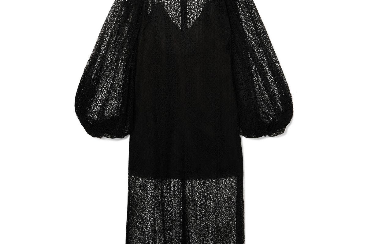 beaufille cohen corded lace midi dress