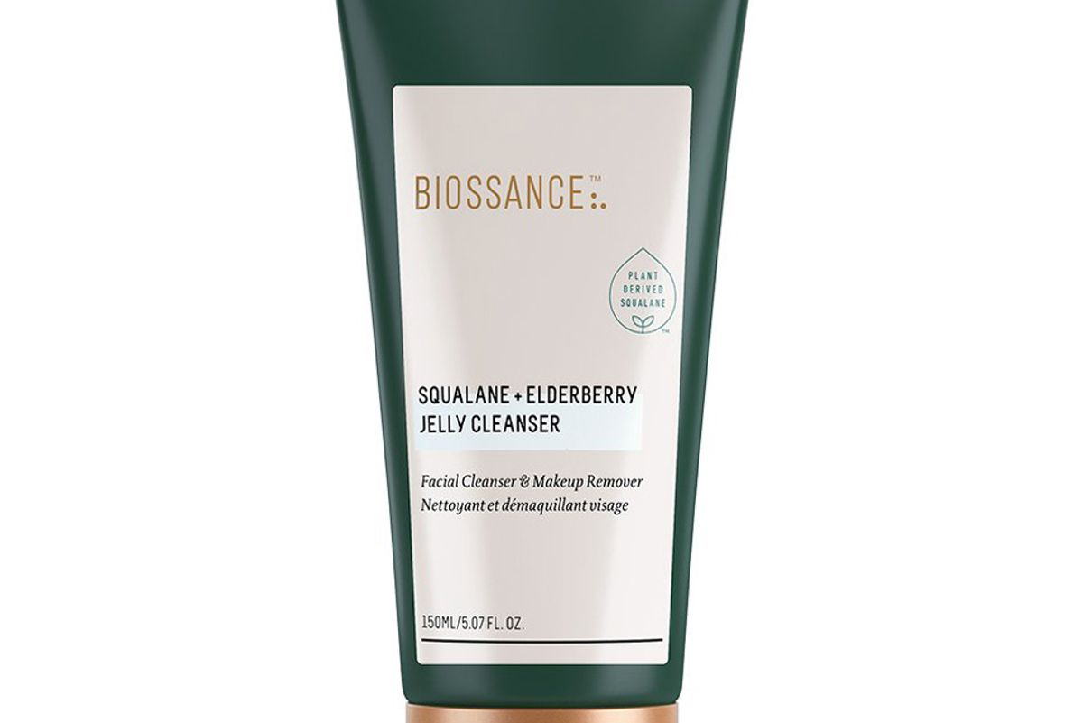 biossance squalane and elderberry jelly cleanser