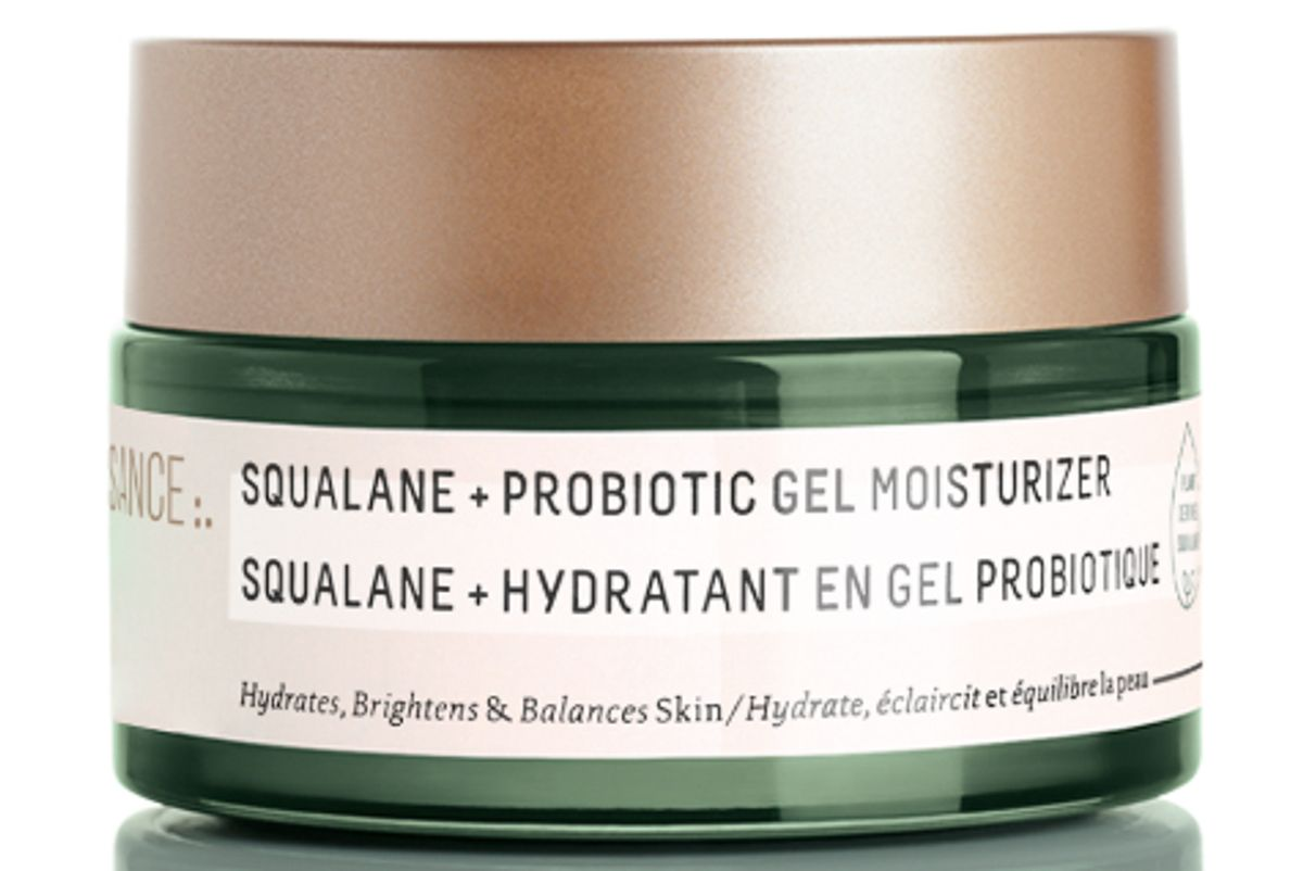 biossance squalane and probiotic gel moisturizer