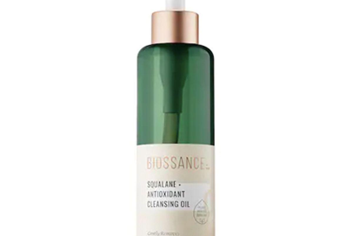 biossance squalane antioxidant cleansing oil