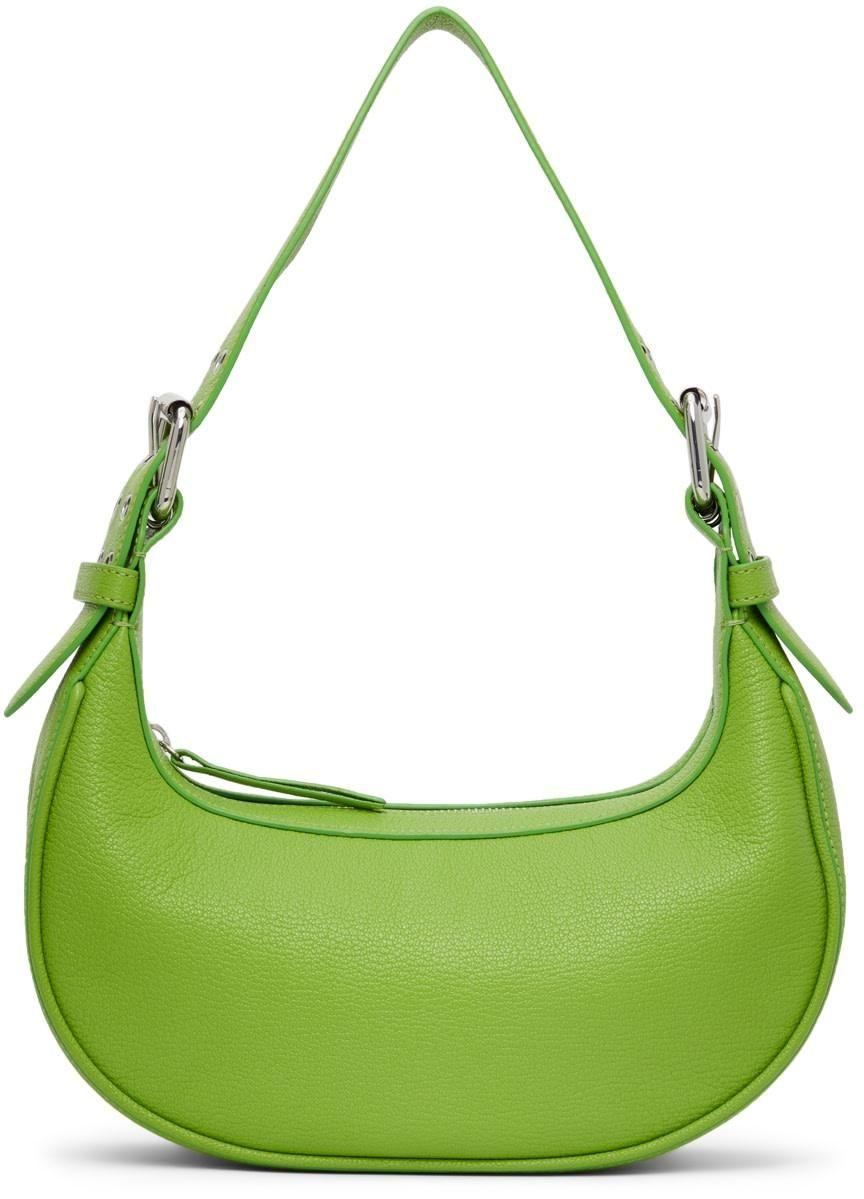 by far green soho shoulder bag