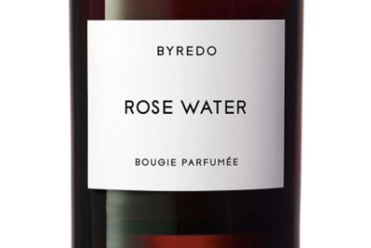 Rose Water Candle