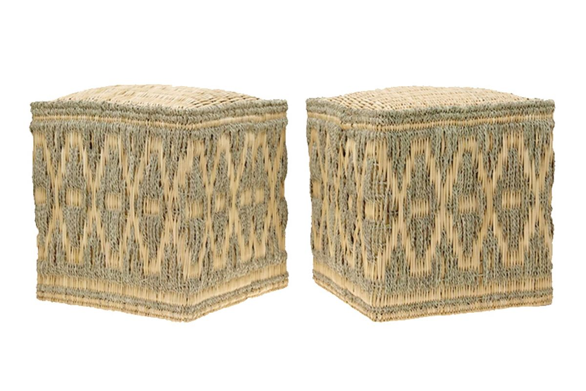 cabana wicker stools