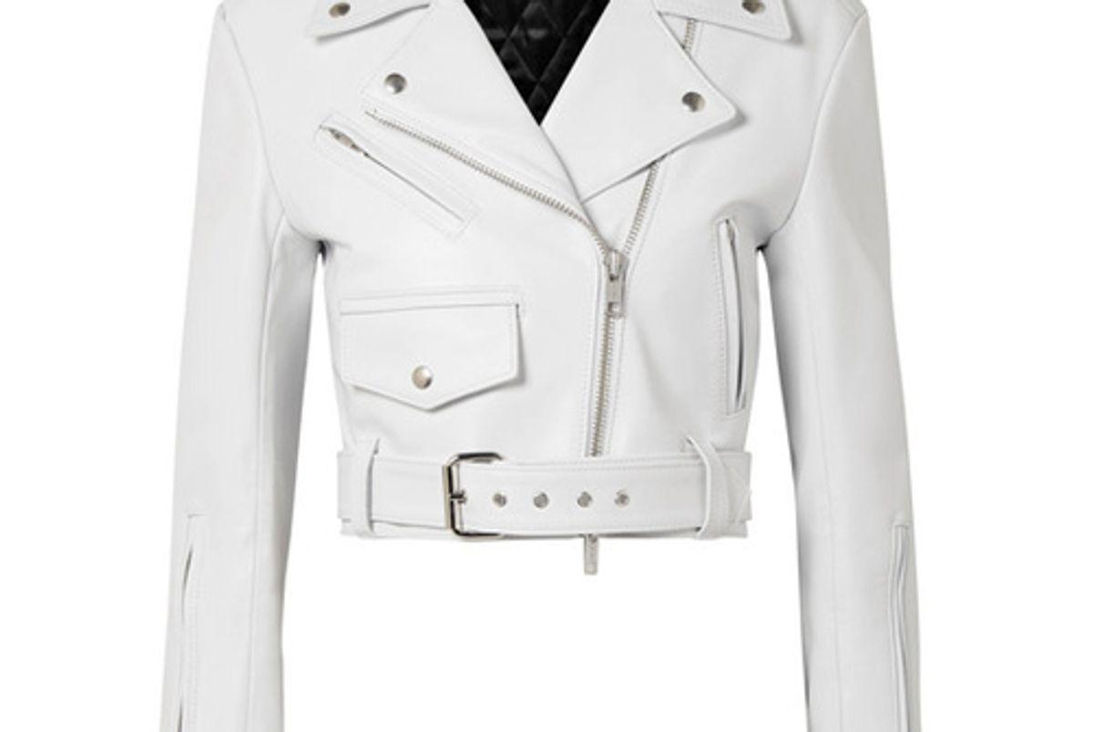 calvin klein 205w39nyc leather moto jacket shop