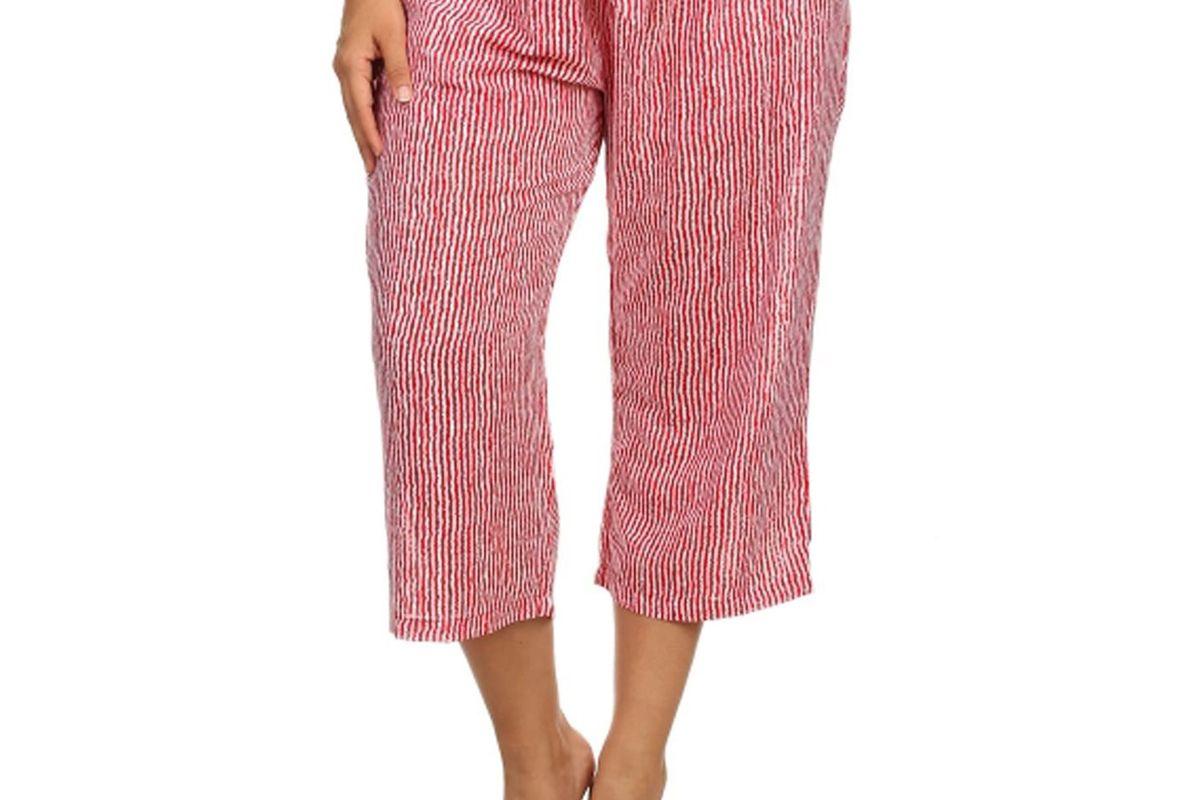 Pinstripe Crop Pants