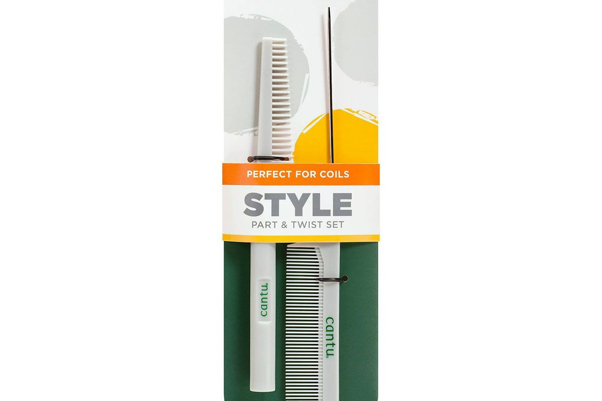 cantu style part and twist comb set