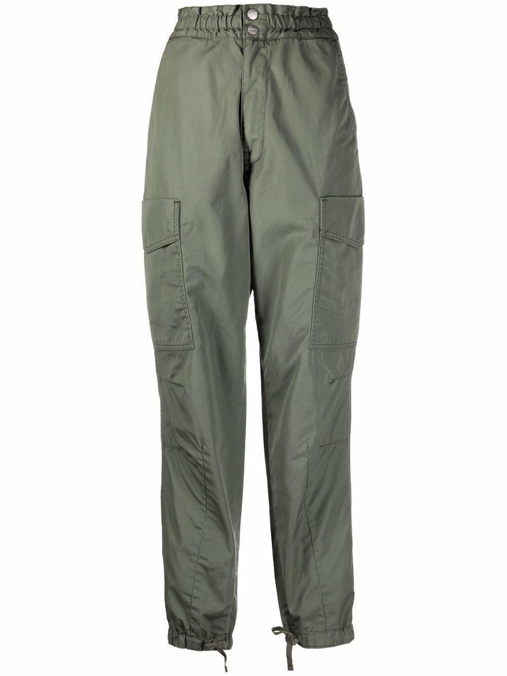 carhartt wip highwaisted cargo trousers