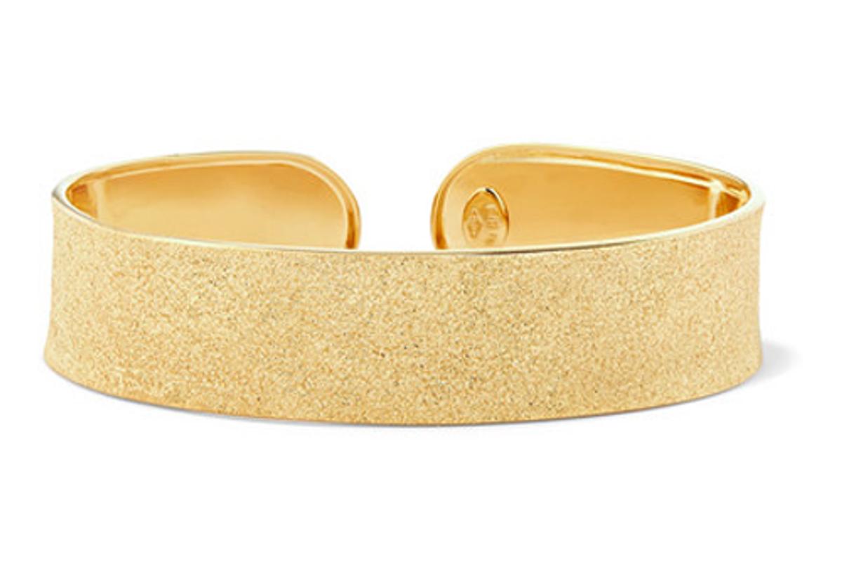 carolina bucci 18 karat gold cuff