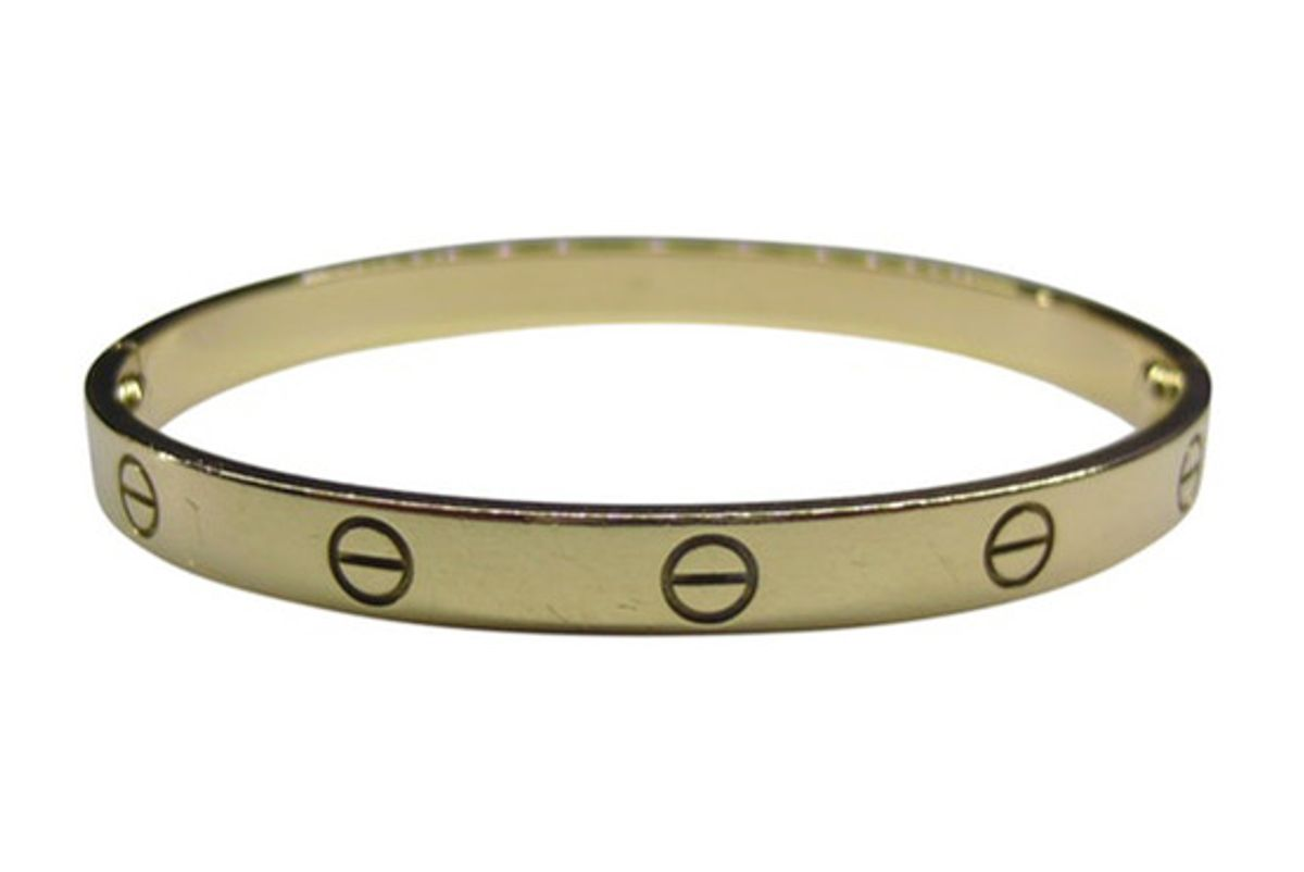 cartier love yellow gold jewelry