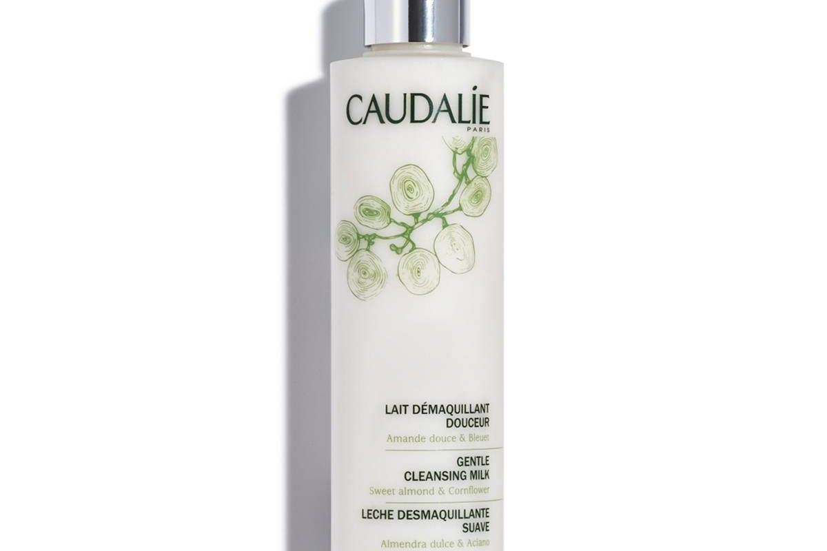 caudalie gentle cleansing milk for cleansed and nourished skin