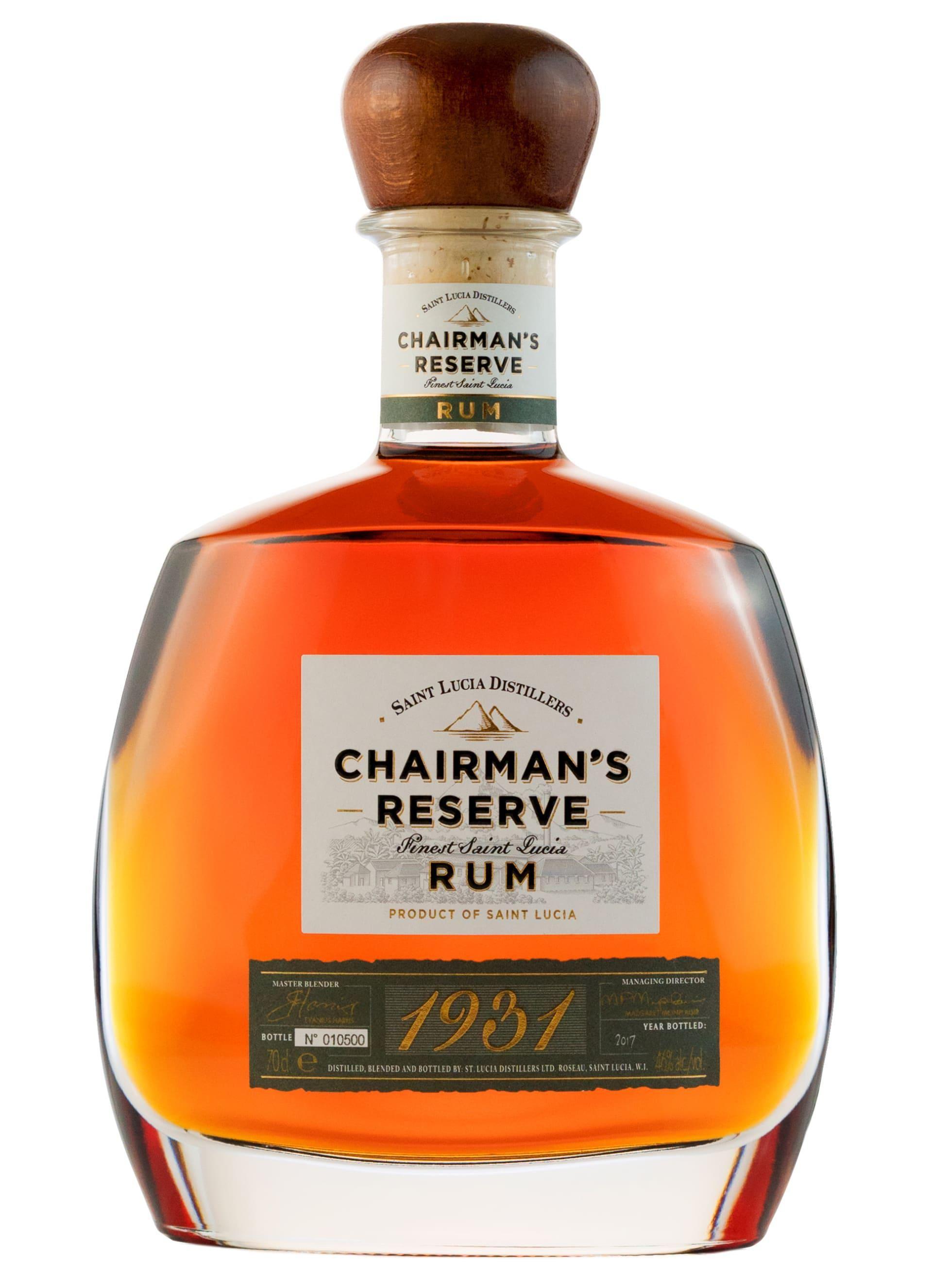 chairmans reserve 1931 rum