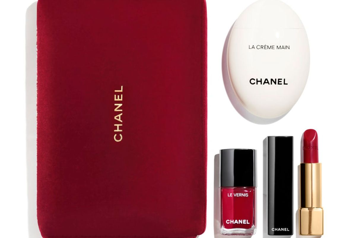 chanel beauty beauty to go lip and nails set