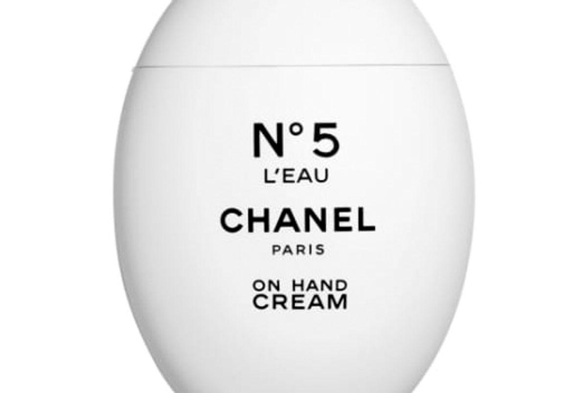 chanel no 5 l'eau on hand cream
