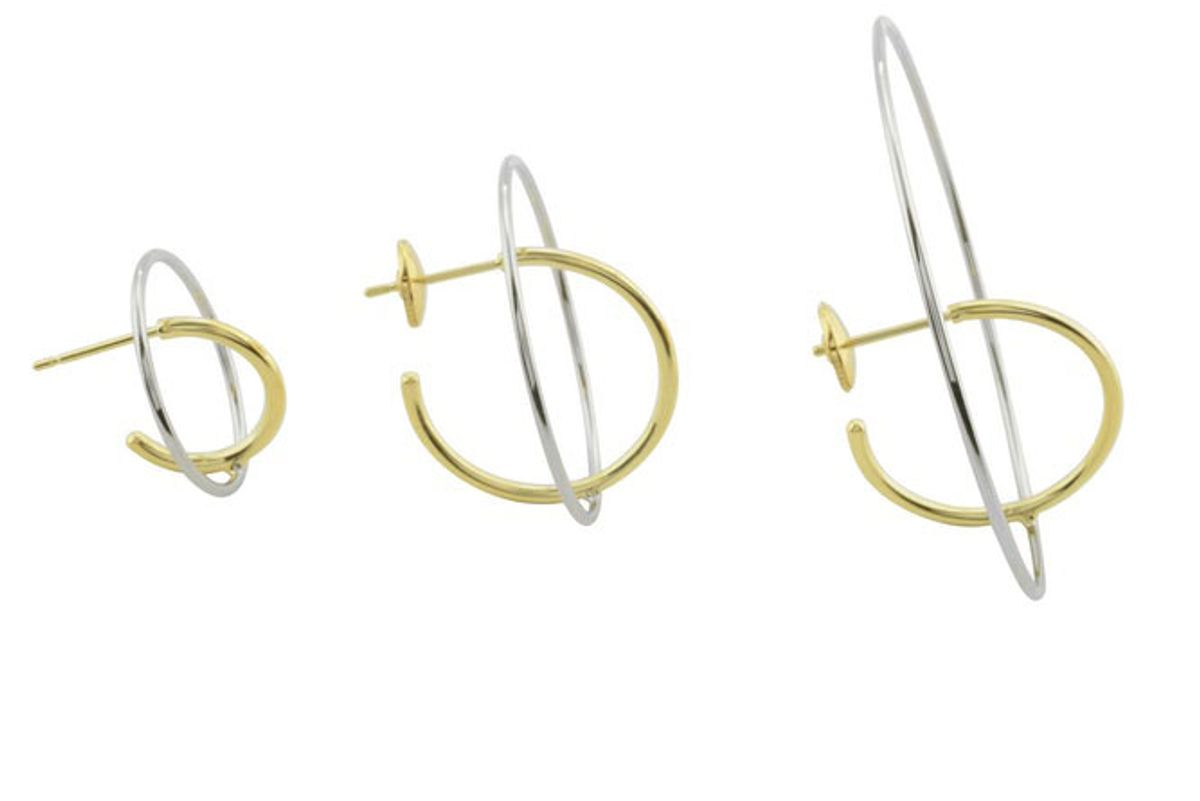 Small Saturne Earrings