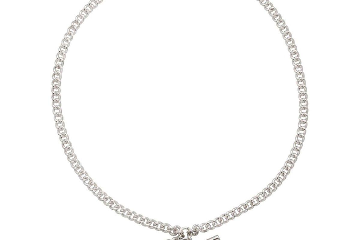 dudley vandyke chelsea double albert chain in sterling silver